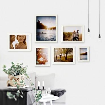 Bộ khung ảnh treo tường hiện đại