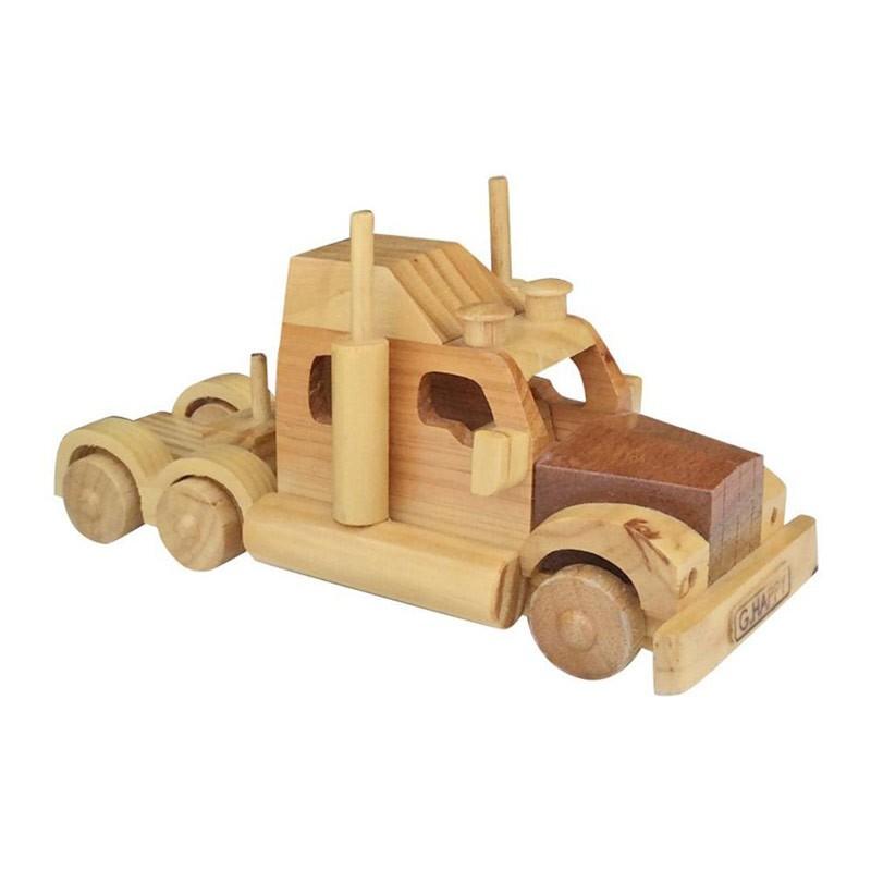 Đồ chơi mô hình Container lắp ráp bằng gỗ GHappy