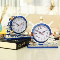Đồng hồ để bàn kiểu tay lái tàu thủy thủ