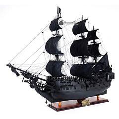 Mô hình tàu Ngọc Trai Đen - thuyền cướp biển Caribe Black Pearl Ship