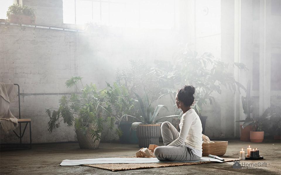 Nét bình yên hiếm thấy tạo cảm giá rất thư giãn và cổ điển