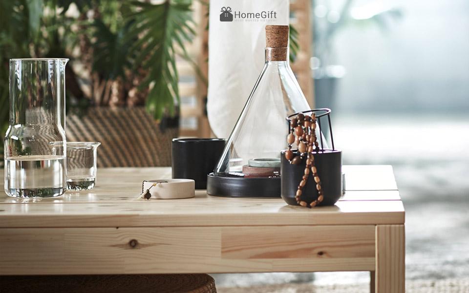Vật dụng decor trang trí mang phong cách tối giản của Ikea