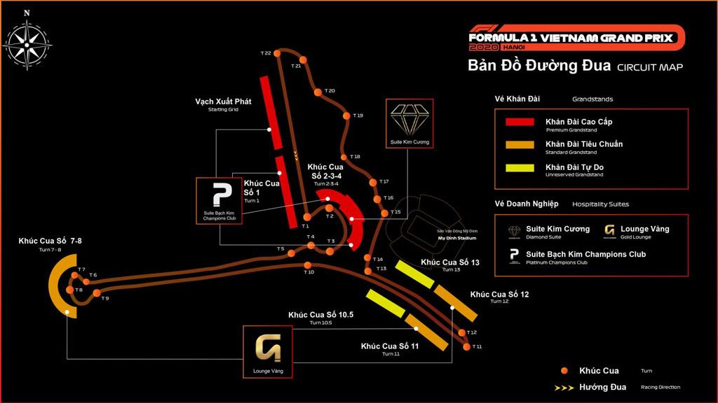 Sân đua F1 chuyên nghiệp