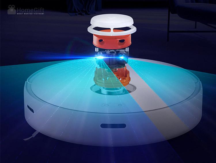 Điểm mạnh của robot hút bụi thông minh Xiaomi - Tích hợp công nghệ hiện đại
