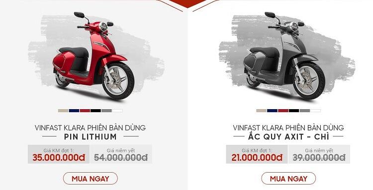 Xe máy điện VinFast giá bao nhiêu? Mua ở đâu?