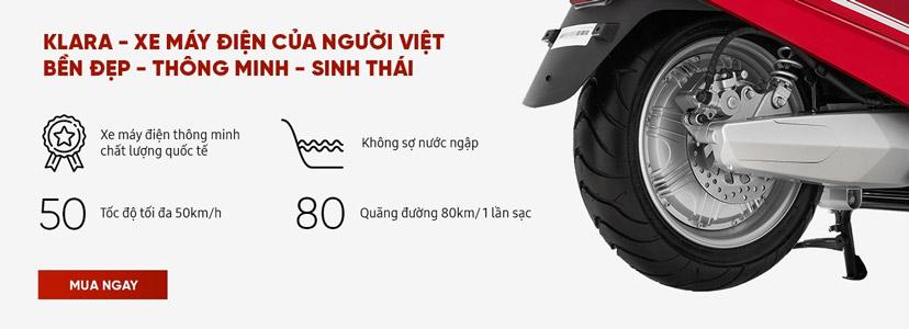 klara xe máy điện của người Việt