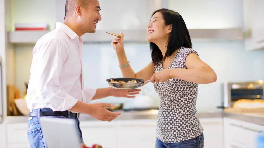 Đàn ông thích được ăn những món do người yêu nấu