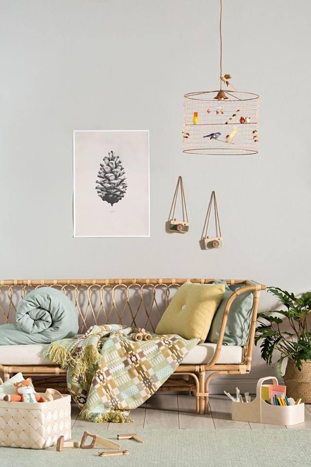 Bộ Sofa phòng khách bằng mây