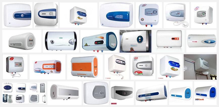 Chú ý đến chất liệu và thương hiệu khi chọn mua máy nước nóng