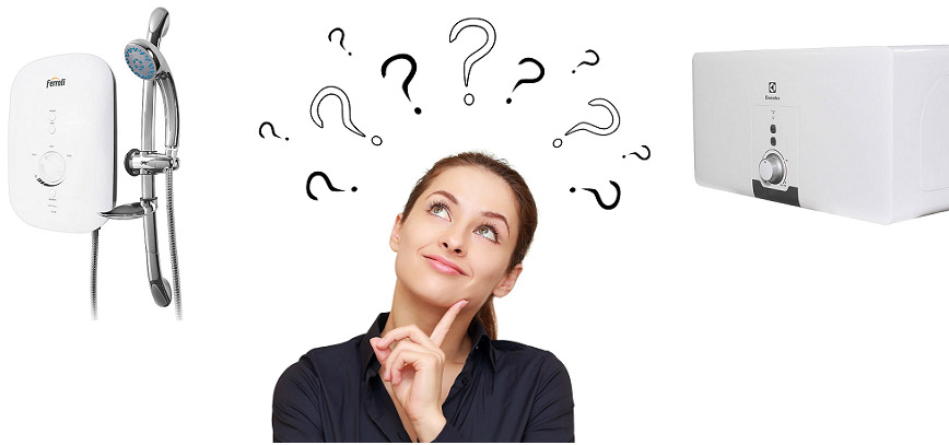 Nên chọn mua máy nước nóng trực tiếp hay gián tiếp?
