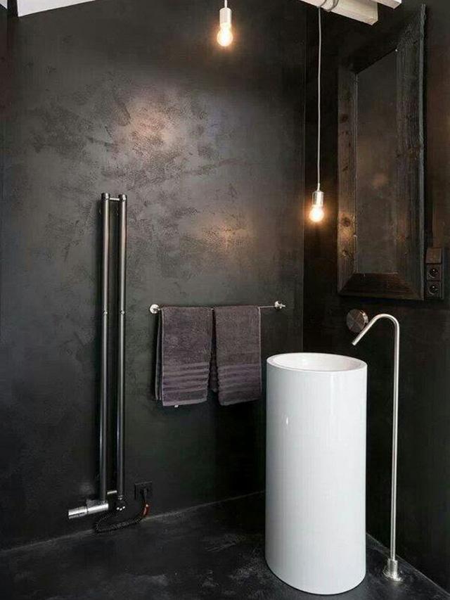 Nhà tắm phong cách công nghiệp