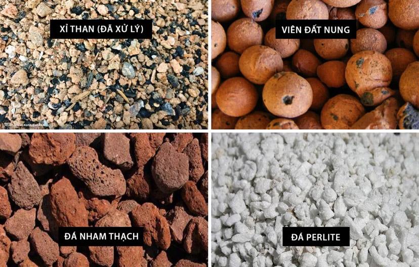 Xử-lý-giá-thể-đất-trồng-cho-sen-đá-với-xỉ-than-đất-nung-đá-nham-thạch-perlite