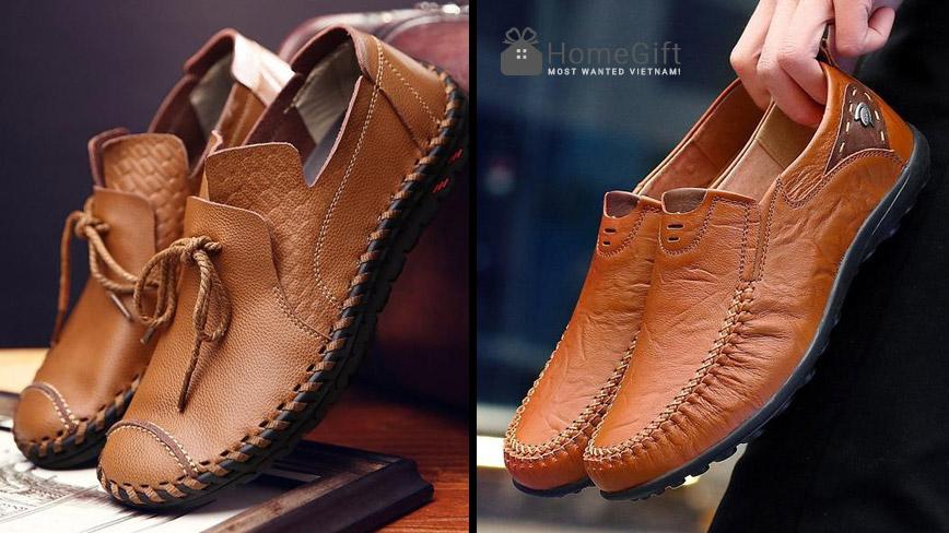 Chọn quà tặng là giày da nam cho chồng