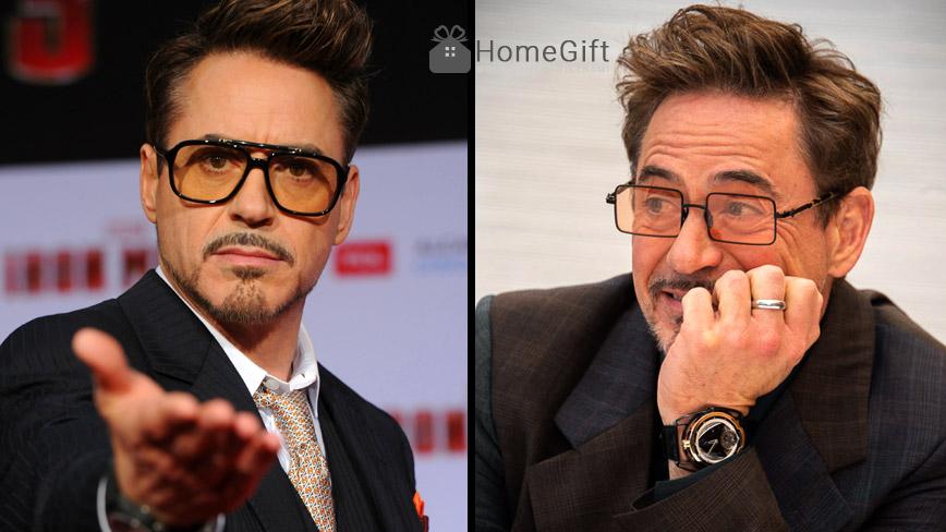 Kính mát gọng vuông phong cách nhân vật TONY Stark phim The Avengers cho nam