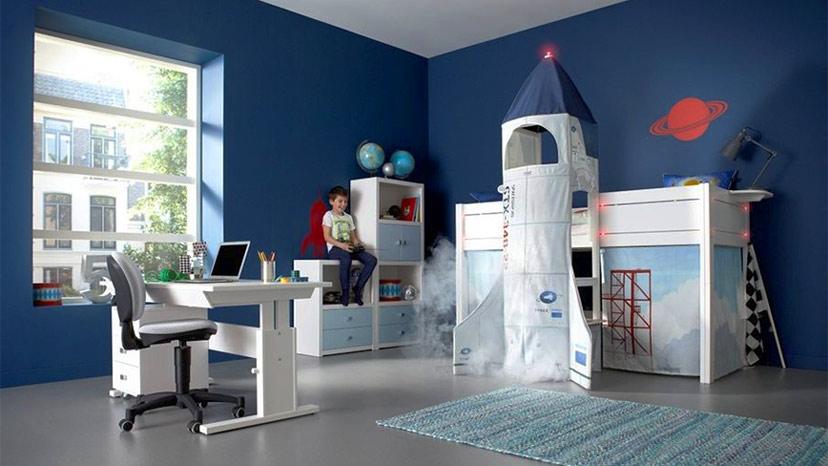 Phòng ngủ trẻ em nhỏ đẹp và cá tính