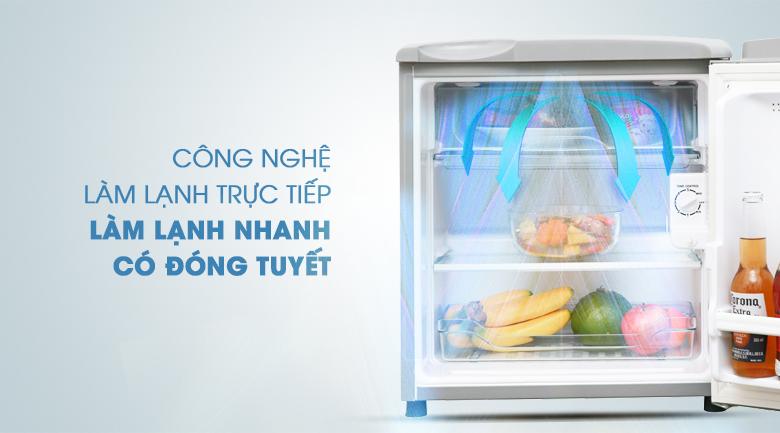 Tủ Lạnh Mini Aqua có đóng tuyết AQR-55ER-SS (50L)