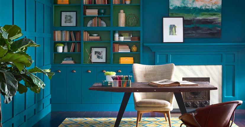 Thay đổi màu sơn hoặc giấy dán tường là cách làm mới nhà hiệu quả nhất, nhanh và ít tốn kém nhất