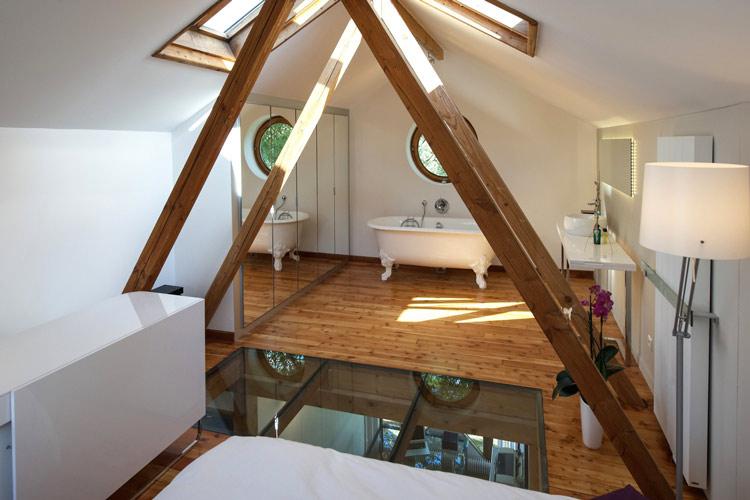 Những ý tưởng thiết kế cực kỳ sáng tạo cho căn phòng áp mái