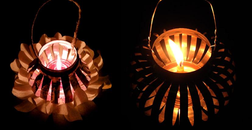 đèn-lồng-lon-nước-ngọt-tự-chế-đèn-quả-trám-trung-thu