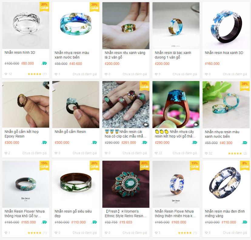 Nhẫn-gỗ-resin-bán-giá-rẻ-online-hcm-hn-da-nang-can-tho-trên-shoppe