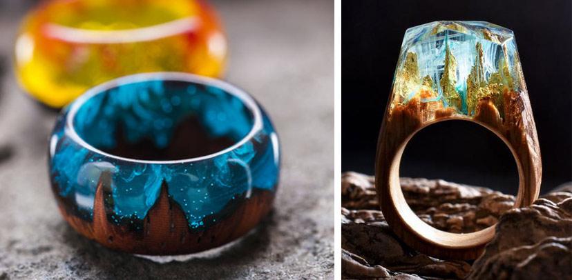 DIY - Hướng Dẫn Làm Nhẫn Gỗ Resin Cực Đẹp Và Độc Handmade Wood Ring Resin
