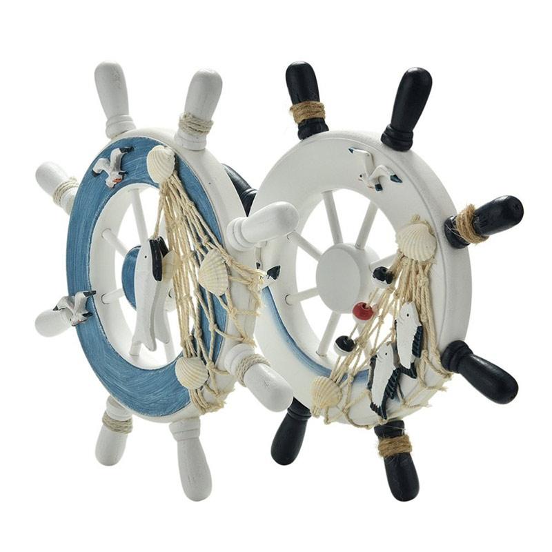 Bánh-lái-tàu-bằng-gỗ-trang-trí-style-trắng-xanh-biển-23cm