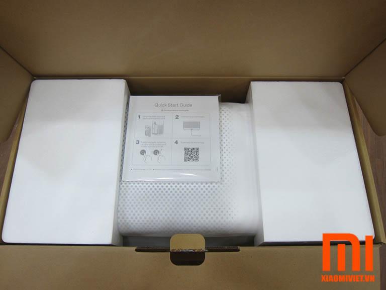 Khui hộp máy lọc không khí Xiaomi gen 2s chính hãng
