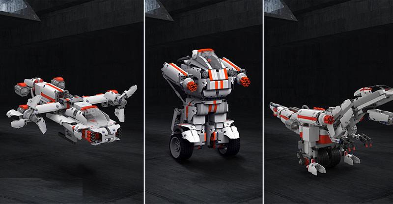 Robot lắp ráp thông minh Bunny Mitu Block 3 trong 1