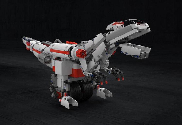 Robot lắp ráp thông minh Bunny Mitu Block Builder - Khủng Long