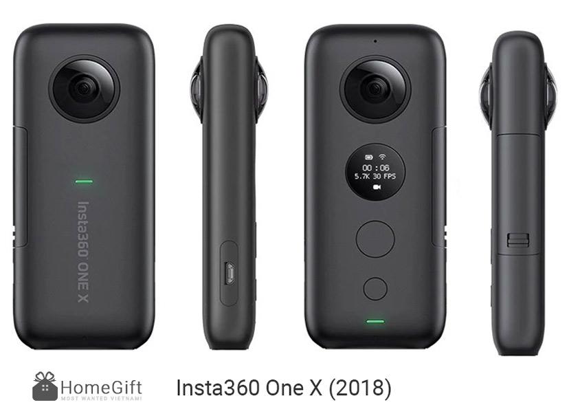 Review đánh giá camera Insta360 One X (2018)