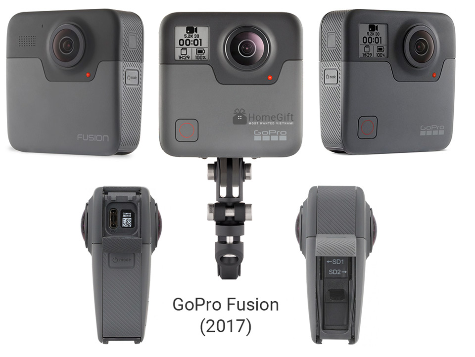 Review GoPro Fusion 360 camera