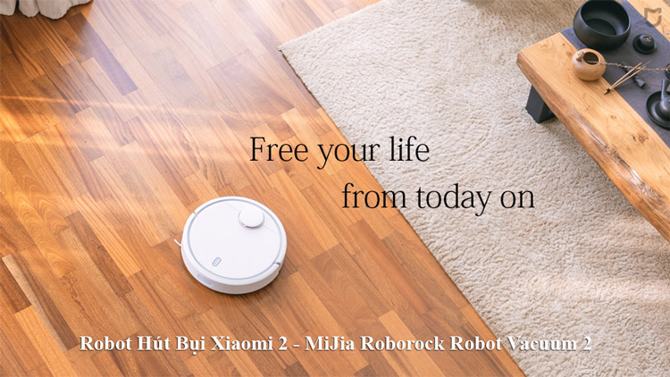 Robot Hút Bụi Xiaomi MiJia Roborock Robot Vacuum 2