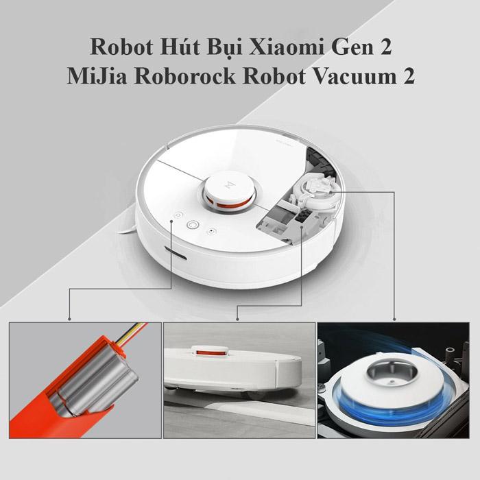 Robot hút bụi Roborock Xiaomi thế hệ 2