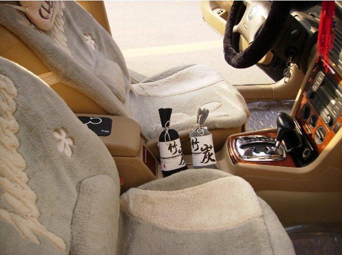 Vừa lọc khí, khử mùi, khử độc vừa làm đồ trang trí nội thất xe hơi độc đáo