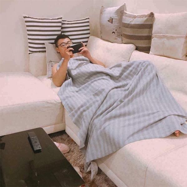 Chăn dạ Ikea cho sofa phòng khách, văn phòng, dã ngoại