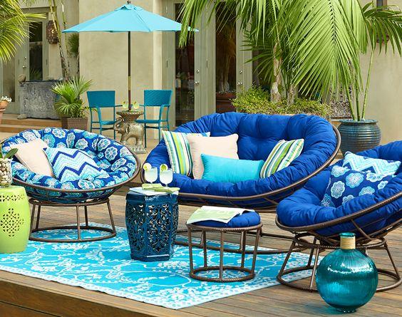 Bộ sofa kết hợp ghế papasan và ghế mamasan độc đáo