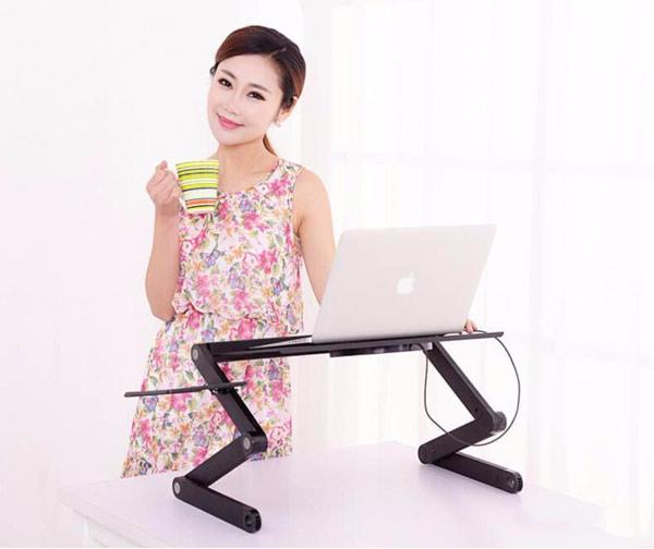 Bàn laptop xoay 360 độ