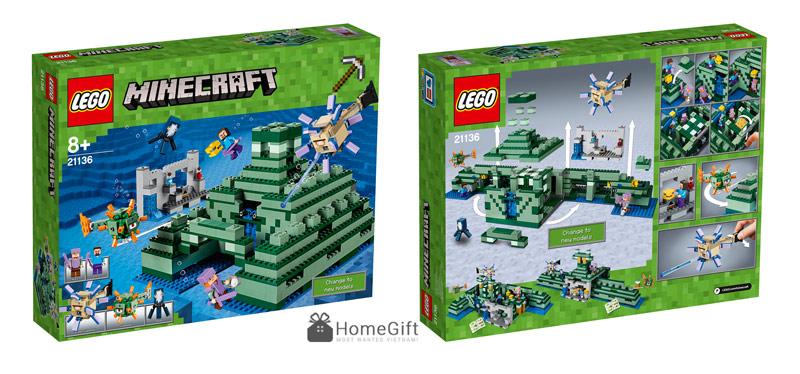 Đồ chơi Lego Mykingdom minecraft 21136