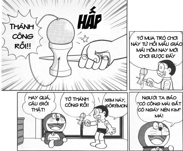 Trò chơi Kendama được giới trẻ Việt Nam biết đến qua bộ truyện tranh Doremon