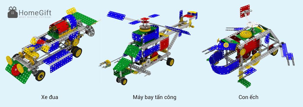 Bộ lắp ráp mô hình từ hộp Khoa học Hàn Quốc