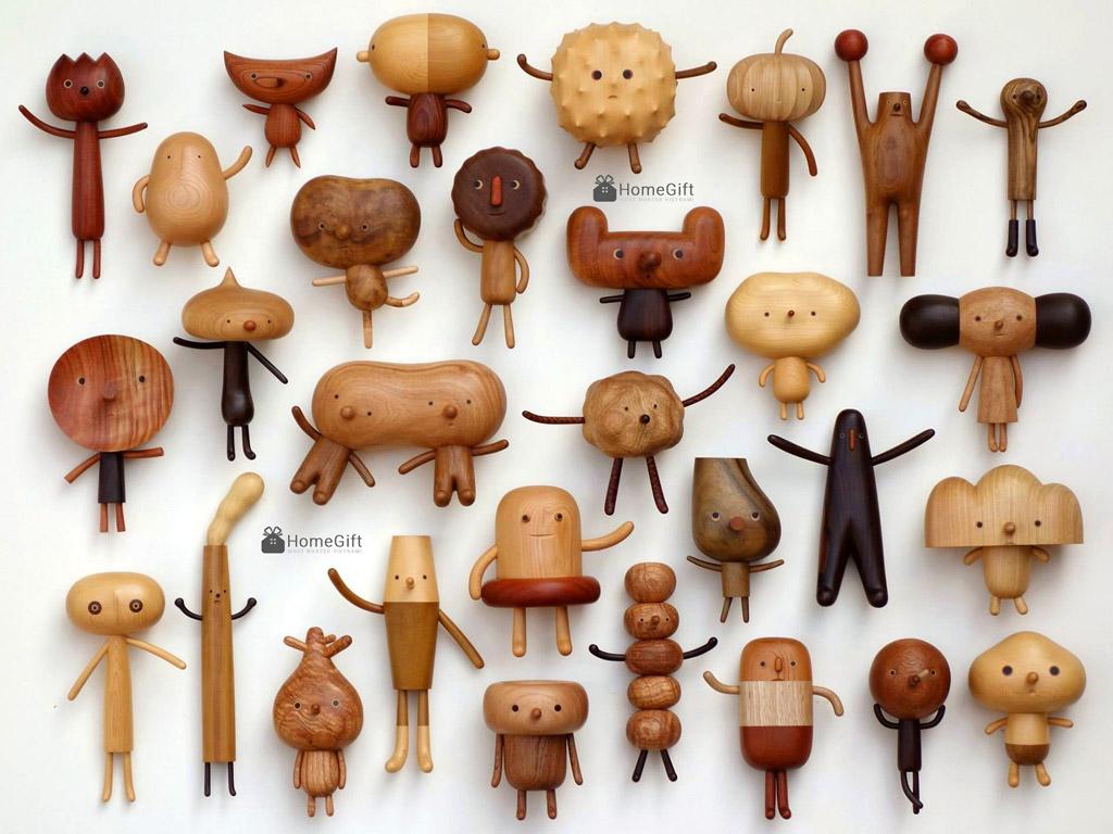 Đồ chơi bằng gỗ sáng tạo thông minh cao cấp của nước ngoài