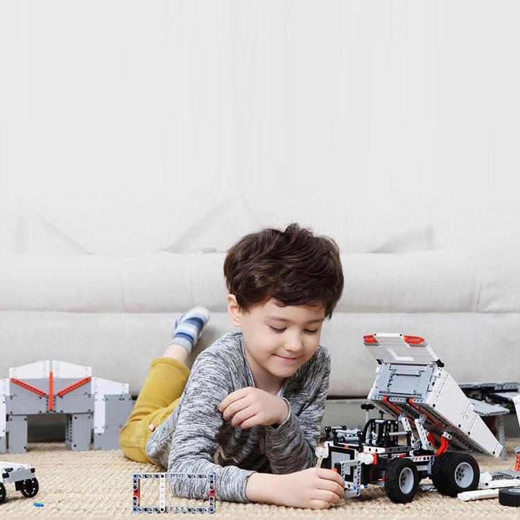 Bộ lắp ráp cho trẻ em Xiaomi Mitu Block Xe Tải