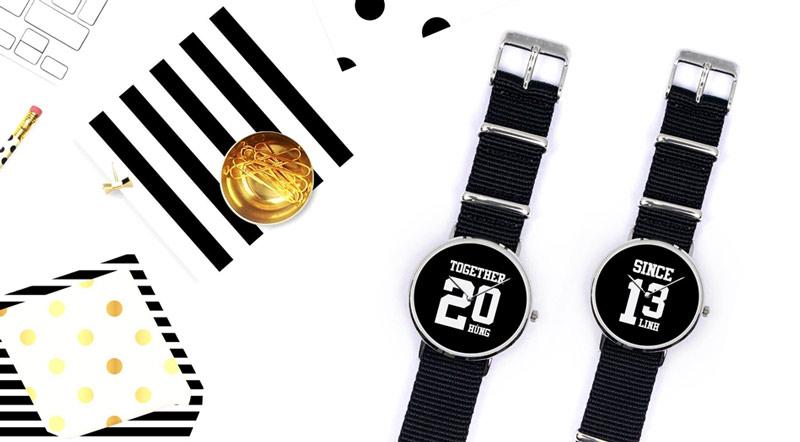 Đồng hồ tự thiết kế Dyoss, Quà tặng độc đáo thời trang dảnh cho đồng nghiệp nam nữ