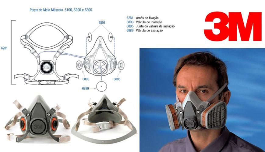 Mặt nạ phòng độc 3M 6200 - thiết kế chuyên dụng cao cấp từ Mỹ
