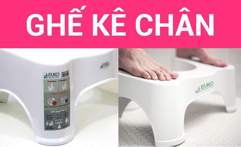 ghế kê chân toilet Euko SQUATPRO