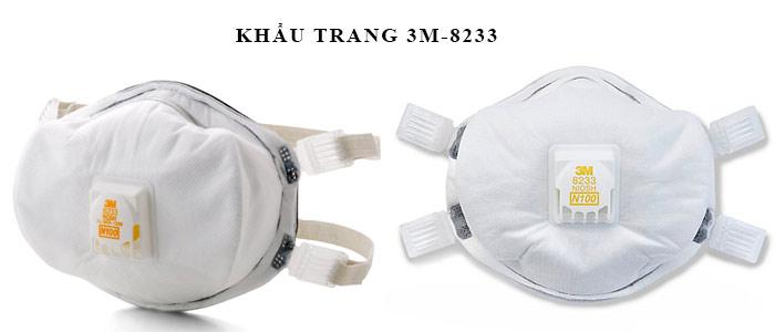 KHẨU TRANG 3M-8233