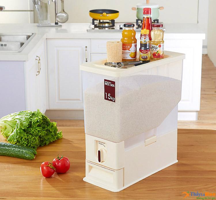 Thùng đựng gạo thông minh Rice Box Hàn Quốc