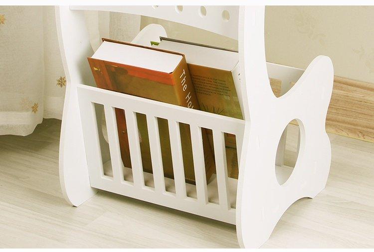 Bàn tròn phòng khách - kệ đầu giường có kệ để sách độc đáo