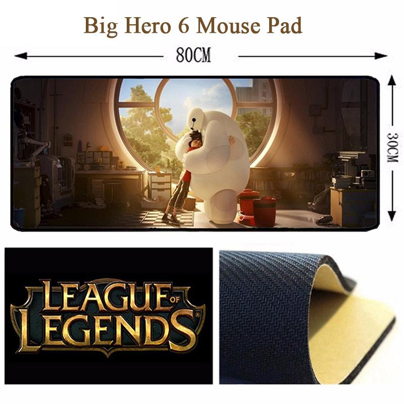Tấm lót chuột cao cấp- Big hero 6 BAYMAX