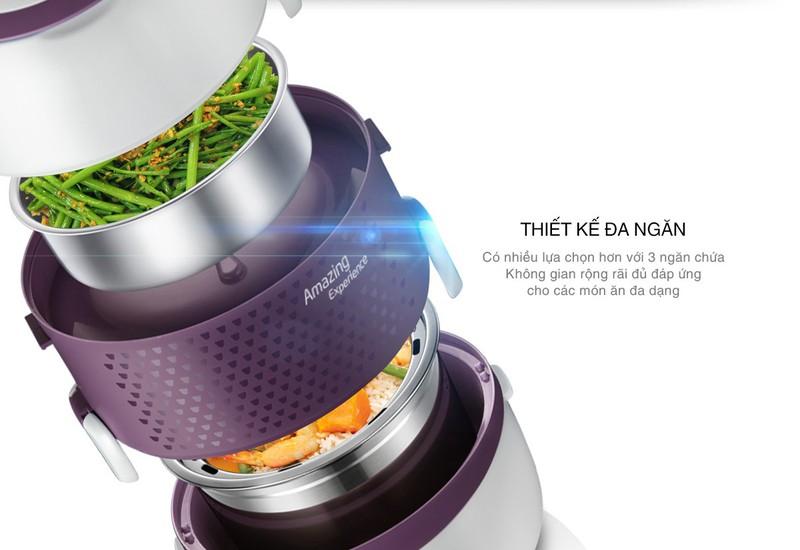 hộp-cơm-arirang-life thiết kế đa nang thông minh